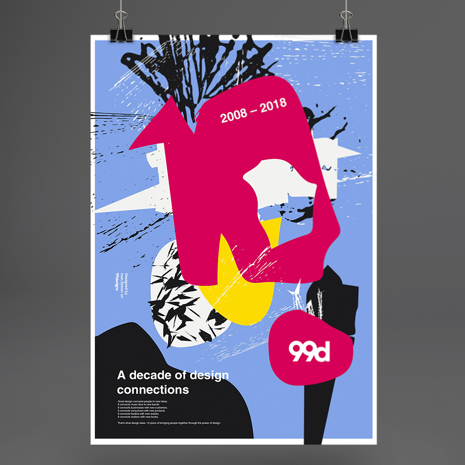 Poster graphic design 2018 - kaszas eu